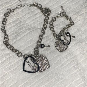Bebe Bracelet and necklace set